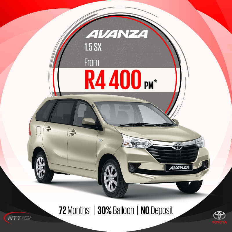 Toyota Avanza 1.5 SX - NTT Motor Group - Cars for Sale in South Africa