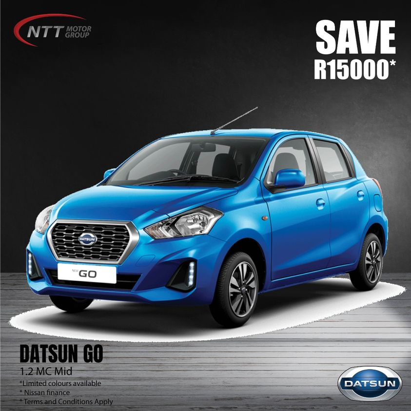 Datsun Go 1.2 - NTT Nissan South Africa - New, Used & Demo Cars for Sale in South Africa