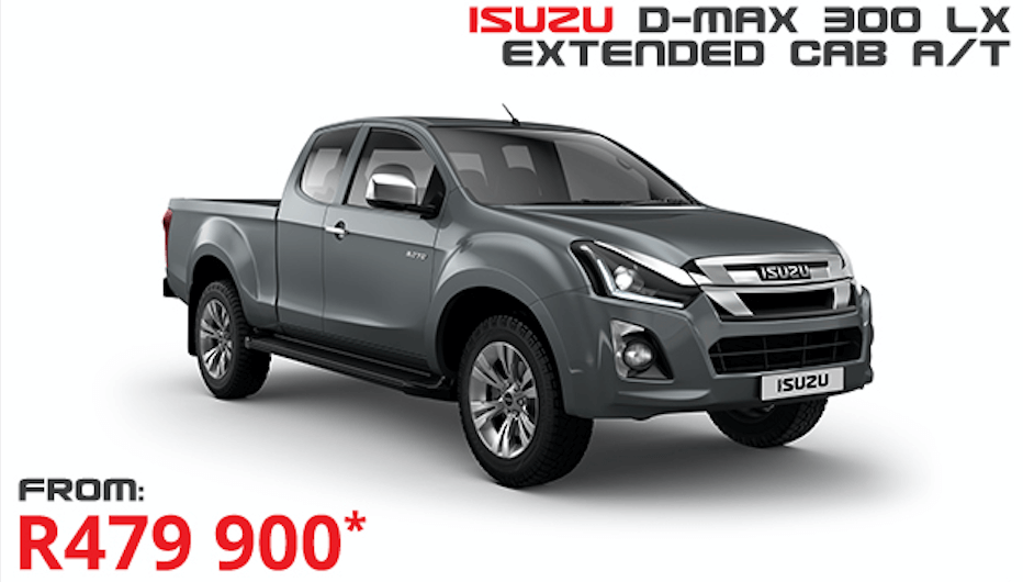 Isuzu D-Max 300 LX E/C A/T - NTT Motor Group - Cars for Sale in South Africa