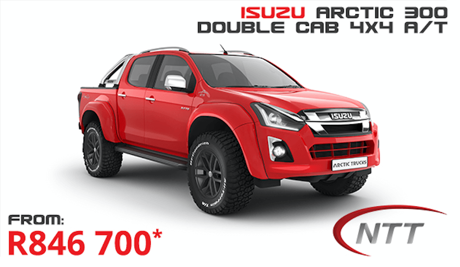 Isuzu D-Max Arctic 300 D/C 4×4 A/T - NTT Motor Group - Cars for Sale in South Africa