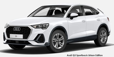 Audi Q3 Sportback S tronic Urban Edition - NTT Motor Group - Cars for Sale in South Africa