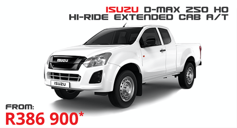 Isuzu D-Max 250 HO Hi-Ride E/C A/T - NTT Motor Group - Cars for Sale in South Africa