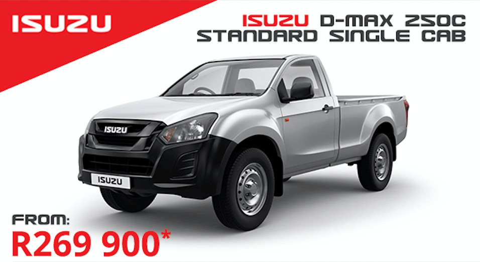 Isuzu D-MAX 250C Standard S/C - NTT Motor Group - Cars for Sale in South Africa