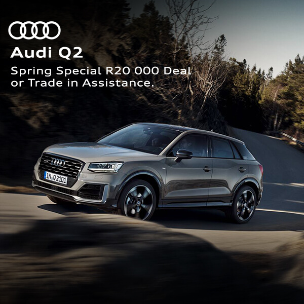 Audi Q2 - NTT Audi - New, Used & Demo Cars for Sale in South Africa