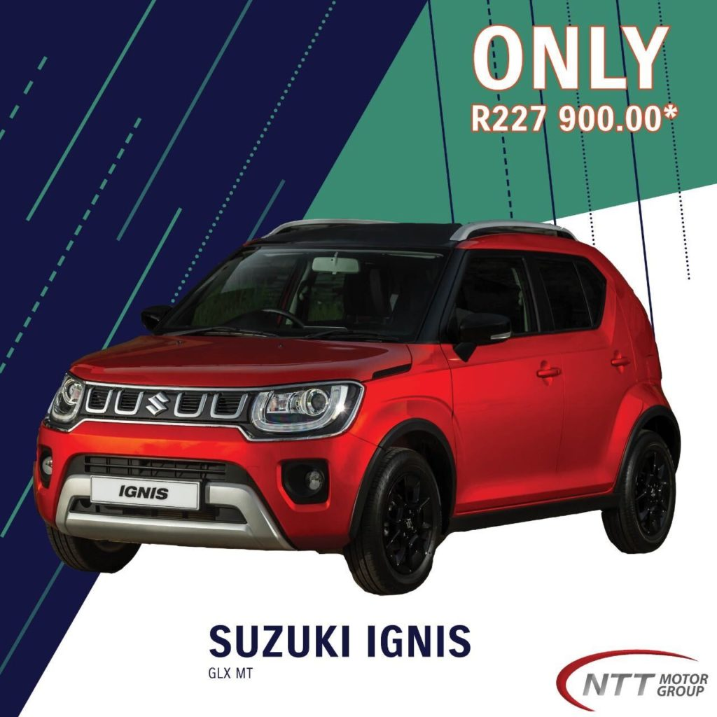SUZUKI IGNIS GLX AMT - NTT Motor Group - Cars for Sale in South Africa