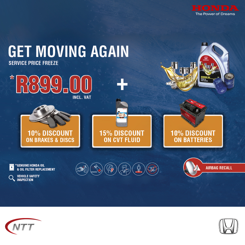 Service Price Freeze - NTT Motor Group - Cars for Sale in South Africa