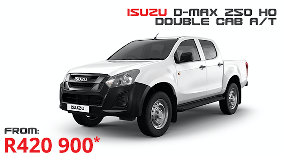 Isuzu D-Max 250 HO D/C A/T - NTT Motor Group - Cars for Sale in South Africa
