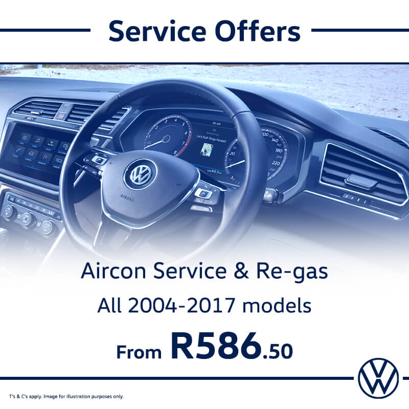 Service Offer: All Models - NTT Volkswagen - New, Used & Demo Cars for Sale in South Africa