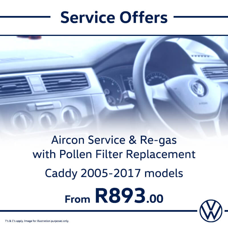 Service Offer: Caddy Models - NTT Volkswagen - New, Used & Demo Cars for Sale in South Africa